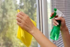 Как отчистить стекло
