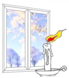 причины продувания окна